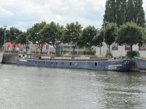 De Constance, uit Rumst, liggende aan de Wiedauwkaai te Gent op 15 augustus 2013