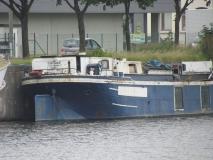De Constance, uit Rumst, liggende aan de Wiedauwkaai te Gent op 31 juli 2012