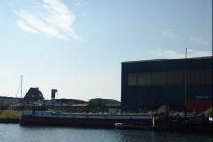 De Ark aangemeerd op 3 oktober 2015 in Terneuzen
