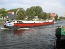 De Ark varend door Brugge op 4 oktober 2010