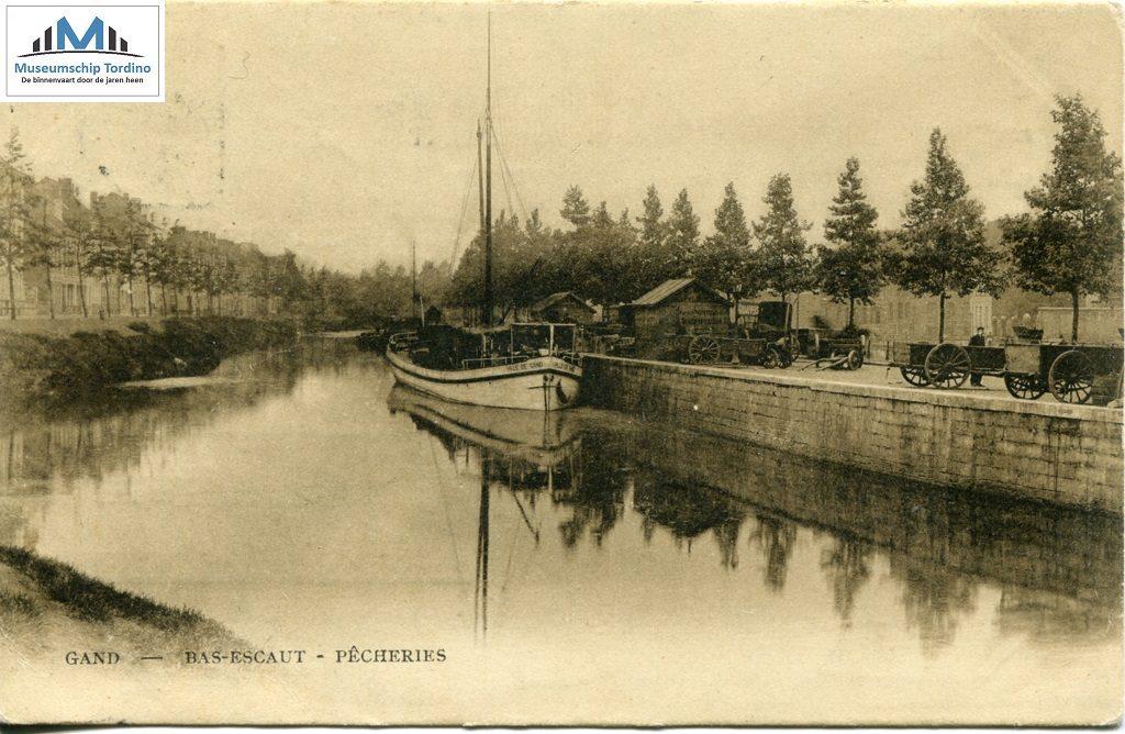 Ville de Gand aan de Visserij te Gent