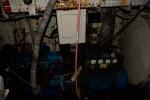 Deepwater: Generator, diende ook voor de aansturing van de compressor voor de duiktank