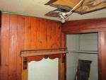 De binnenwand van de kasten en plafond bestonden uit geschilderde schroten