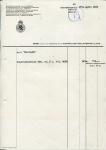 DEBETNOTA Nederlandsche Handel Maatschappij - KHL - 1960 - SS Maasland
