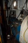 Deepwater: Detailopnamen van de machinekamer met rechts de generator