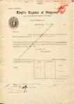 Rapport - Lloyd's Register of Shipping - KHL - SS Maasland - 1959