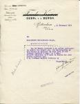BRIEF - Gebroeders Van den Bergh - KHL - 1916