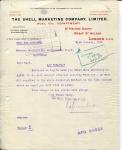 FACTUUR - Shell Marketing Company Ltd. - KHL - 1922 - SS Orania