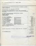 FACTUUR - Vervolgblad - NV Machinefabriek CP Bolier - 1973