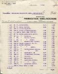 BESTELBON Koninklijke Pharmaceutische Handelsvereeniging voor SS Limburgia - 1920