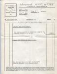 Factuur van Scheepswerf Minnewater met betrekking tot het leveren van een schroef voor het vaartuig Marie Louise (Later Benoni)