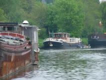 Clochard te Gent op 1 mei 2004