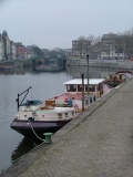 De Clochard op 12 februari 2004 in Portus Ganda te Gent
