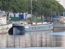 De Constance, uit Rumst, liggende aan de Wiedauwkaai te Gent op 18 augustus 2012