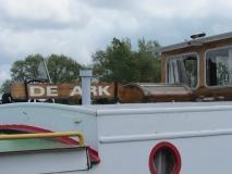 De Ark, aangemeerd op 27 april 2014 in Brugge