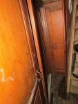 Detailopname van de afwerking van de deuren