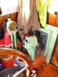 Bediening en controlepaneel van de motor