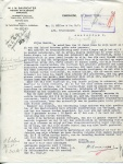 BRIEF - Weverij en Bleekerij Enchede - KHL - 1932