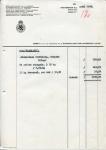 DEBETNOTA - Nederlandsche Handel Maatschappij - KHL - 1959 - SS Maasland