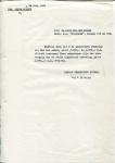BRIEF - Inkoop Technische Dienst KHL - SS Maasland - 1960