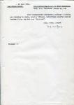BRIEF - Inspectie Technische Dienst KHL - SS Maasland - 1961