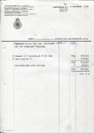DEBETNOTA Nederlandsche Handel Maatschappij - KHL - 1959 - SS Maasland