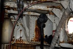 Deepwater: Detailopname van de machinekamer en de doorvoer voor de dekwaspomp