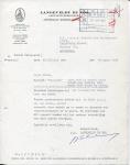 BRIEF - Langeveldt De Vos Assurantie - Waasland - 1959