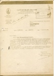 BRIEF - Langeveldt De Vos Assurantie - SS Maasland - 1952