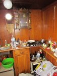 Keuken van de Belisima.